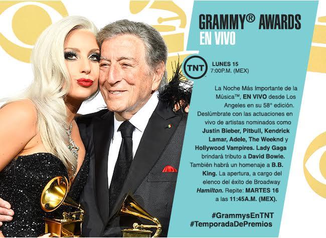 TNT Grammys