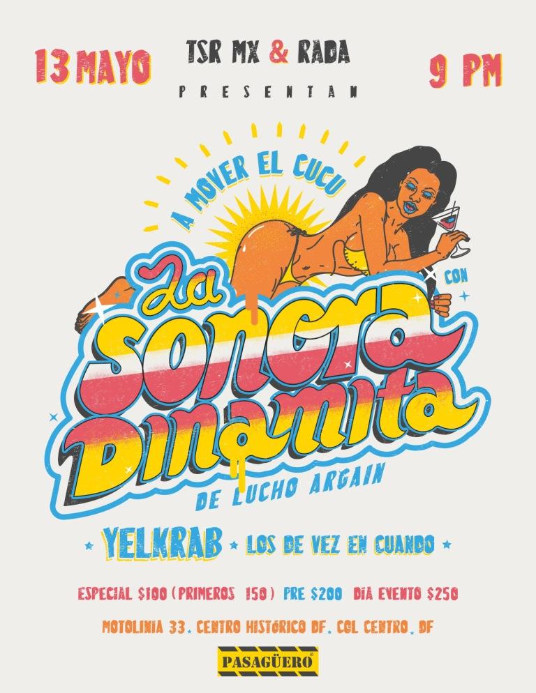 Sonora Dinamita Pasaguero 2016