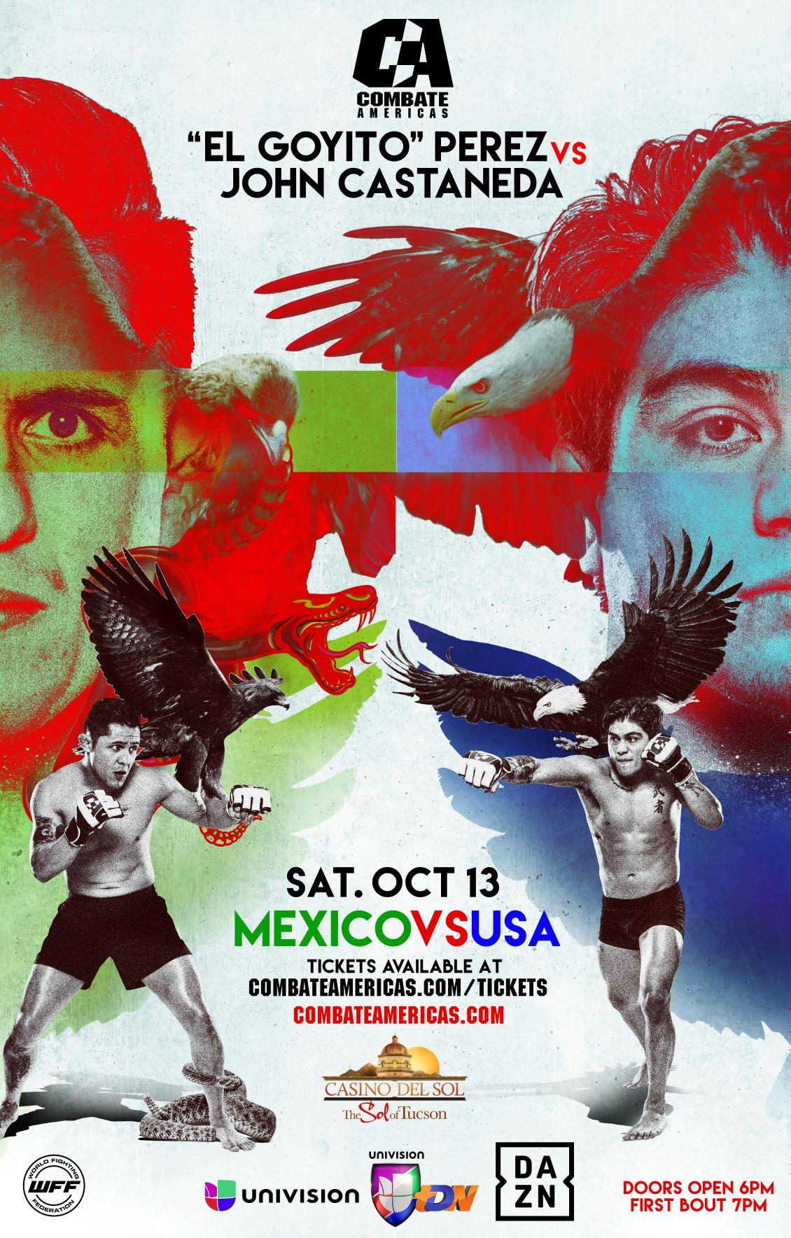 """ENTRE ERIK """"GOYITO"""" PÉREZ Y JOHN """"SEXI MEXI"""" CASTAÑEDA ENCABEZAN EL """"MÉXICO VS. USA"""""""