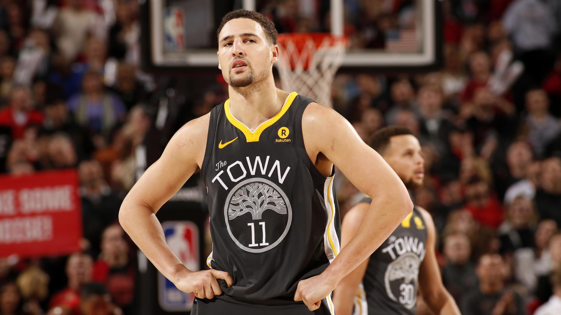 KLAY THOMPSON SUFRE FRACTURA