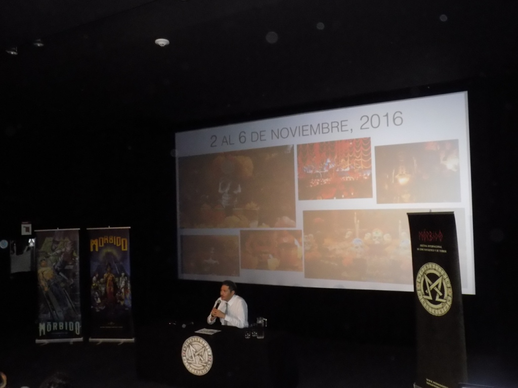 Morbido Fest 2016 Conferencia