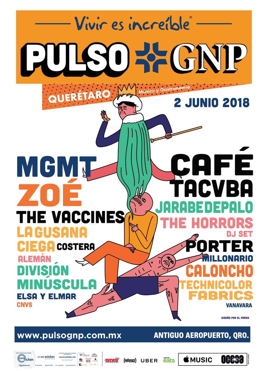 LLEGA A QUERÉTARO EL FESTIVAL PULSO GNP