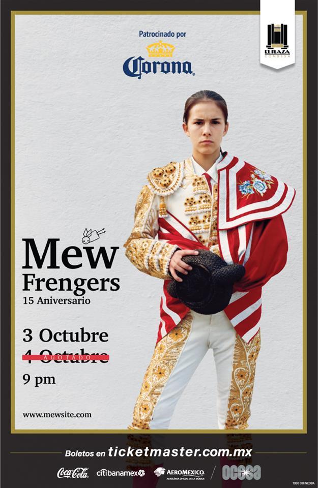 MEW  ABRE UNA NUEVA FECHA PARA CELEBRAR EL ANIVERSARIO XV DE FRENGERS