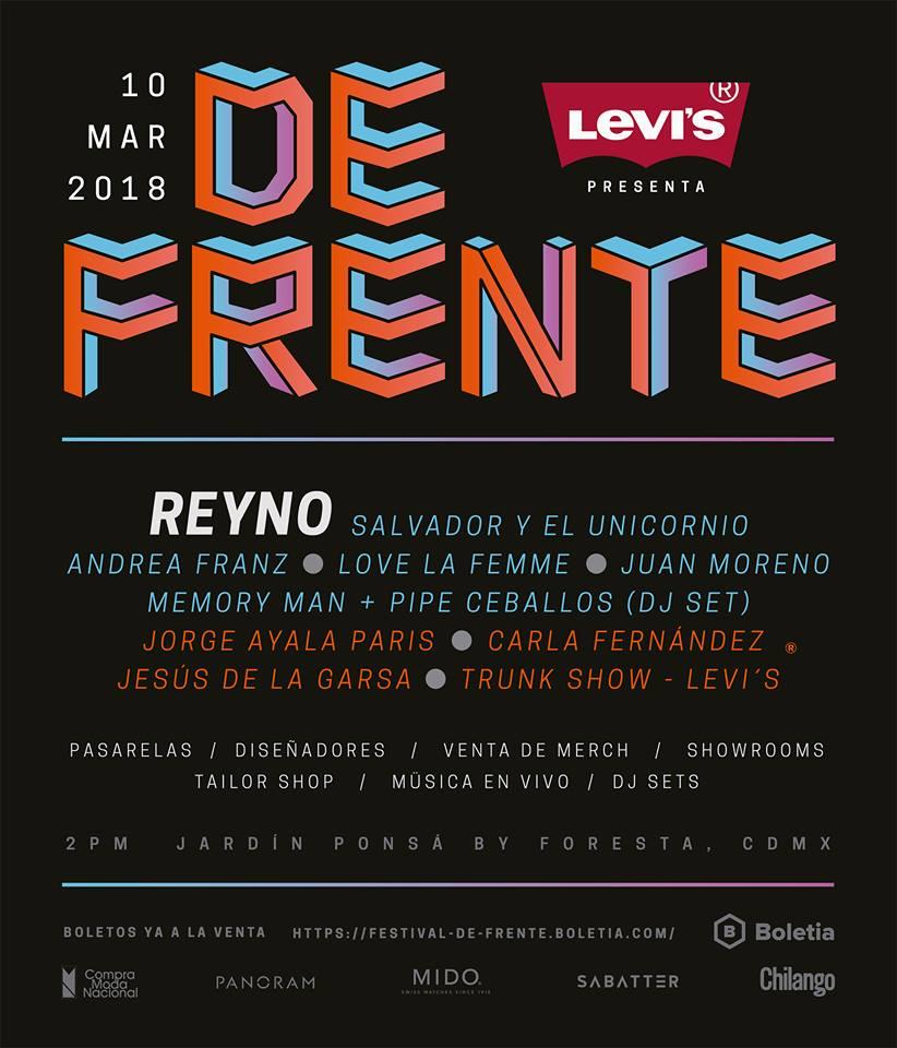 FESTIVAL DE FRENTE. EL EVENTO QUE MEZCLA MÚSICA Y MODA