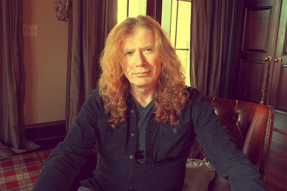 DAVE MUSTAINE, VOCALISTA DE MEGADEATH ES DIAGNOSTICADO CON CÁNCER