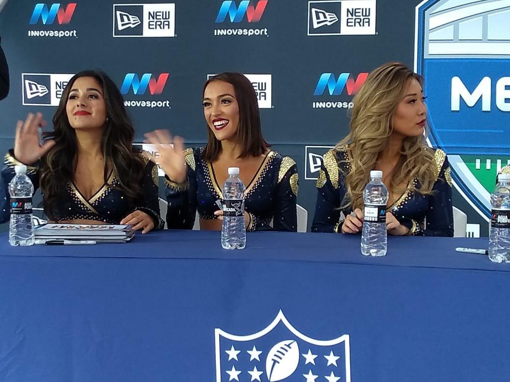 LA BELLEZA DE LA NFL VISITA MÉXICO Y ESTÁ LISTA PARA EL GRAN JUEGO