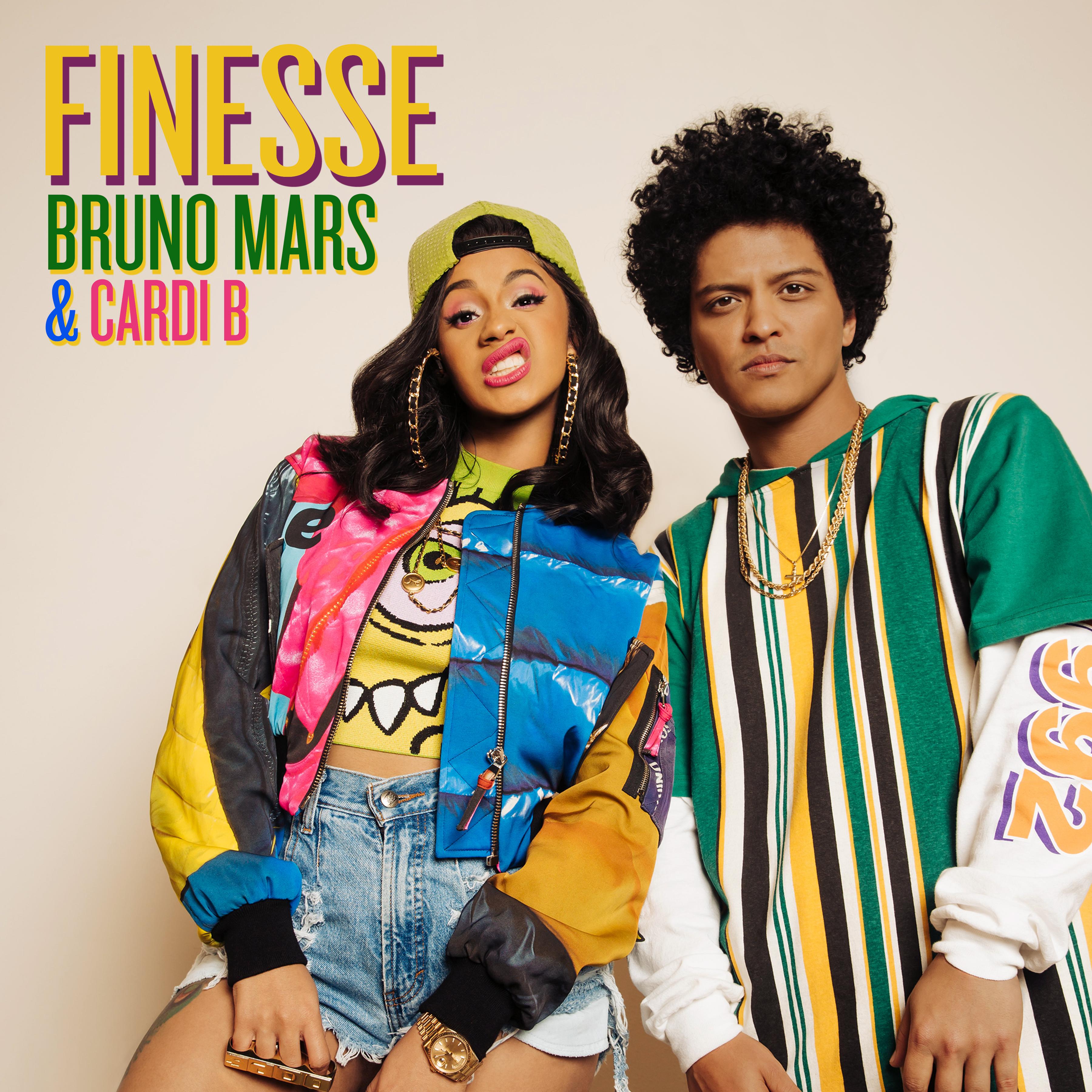 """BRUNO MARS Y CARDI B REALIZAN UNA NUEVA VERSIÓN DE """"FINESSE"""""""