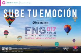 CAPITAL CITIES Y MODERATTO LIDEREAN EL LINEUP DEL FESTIVAL NACIONAL DEL GLOBO AEROSTATICO