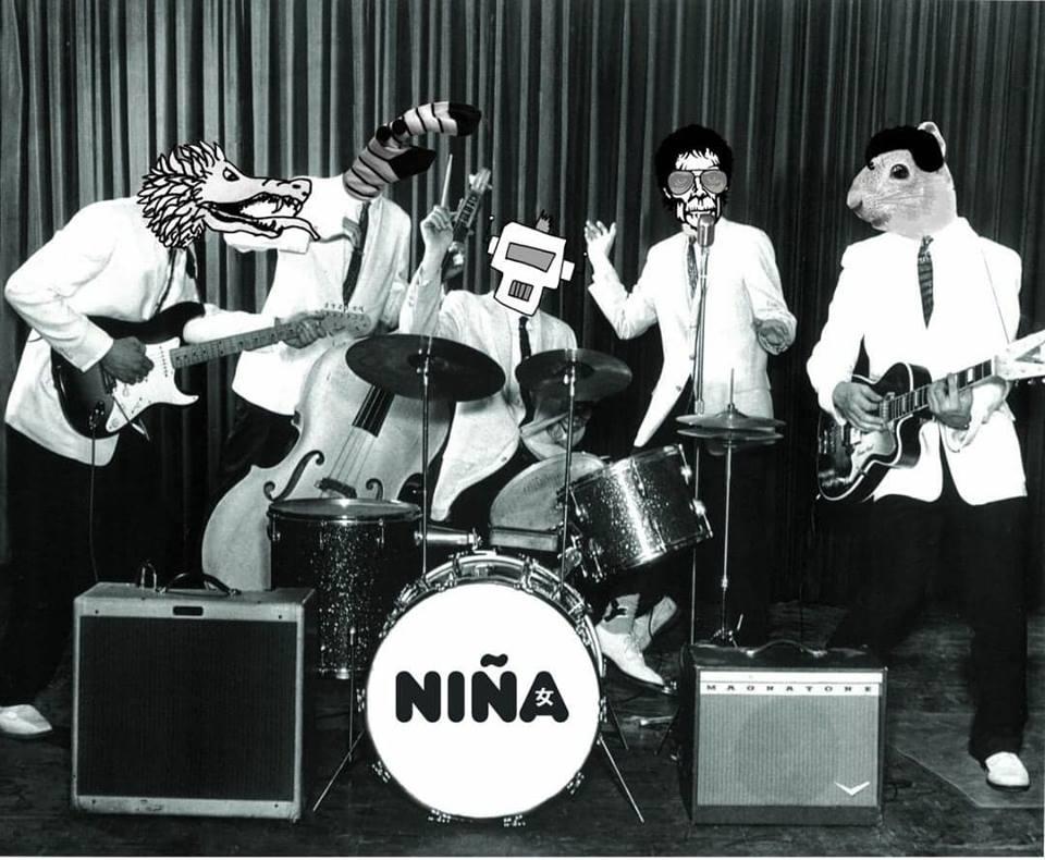 NIÑA EN EL FORO INDIE ROCKS! EN MARZO