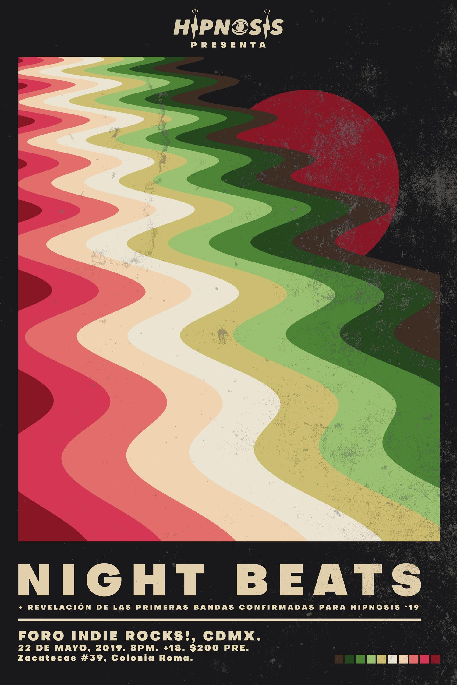 NIGHT BEATS ARRANCARÁ LAS ACTIVIDADES DE HIPNOSIS 2019