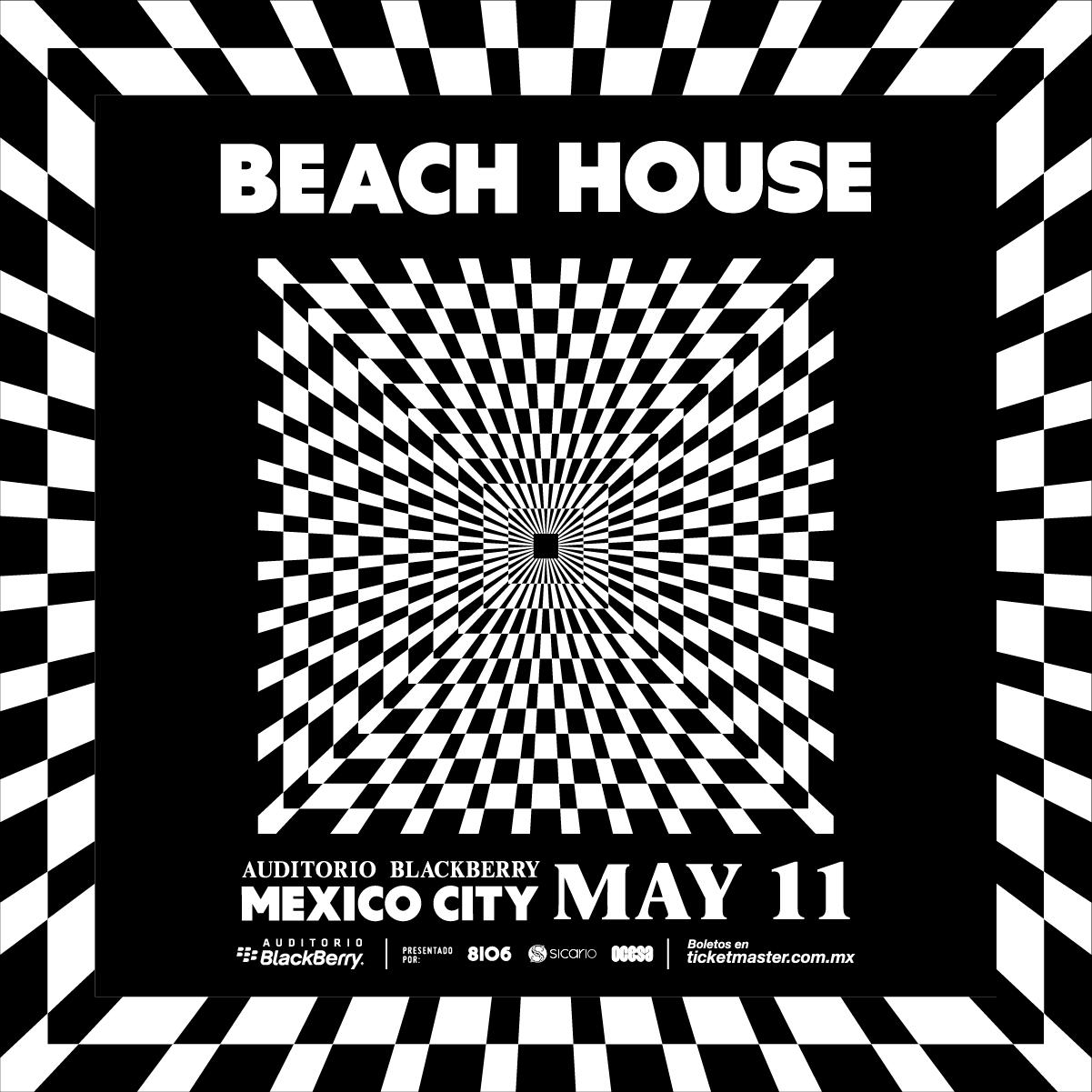 BEACH HOUSE ESTARÁ DE REGRESO EN LA CIUDAD DE MÉXICO