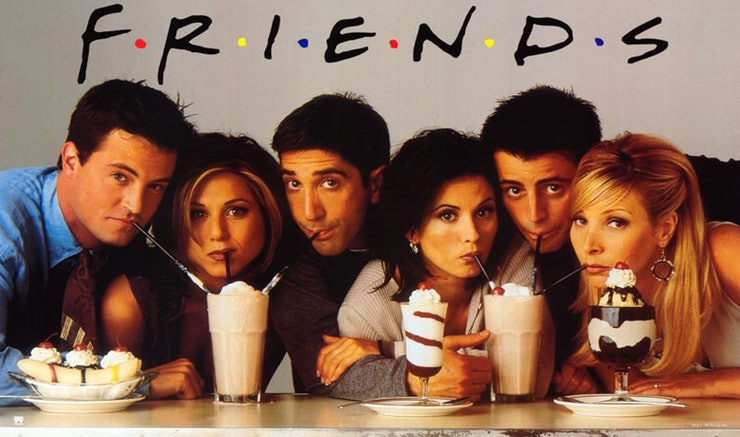 MARATONES WARNER, PRESENTA: FRIENDS