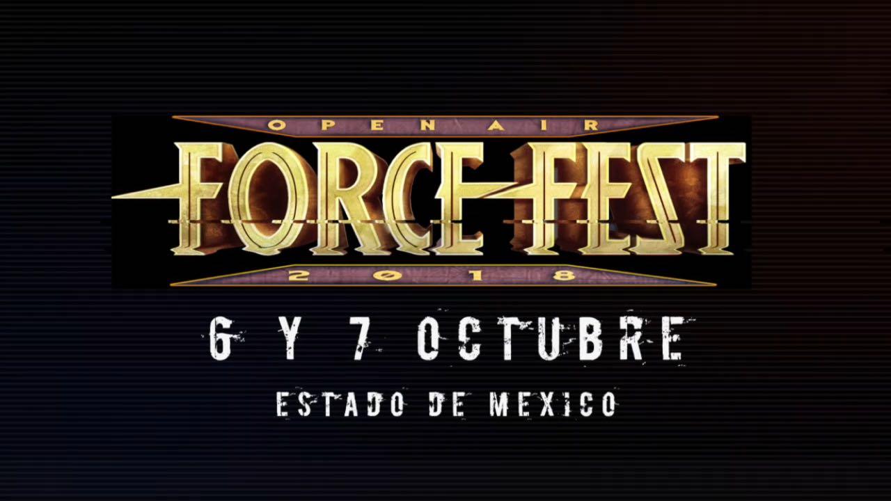 EL FORCE METAL FEST LLEGARÁ AL ESTADO DE MÉXICO