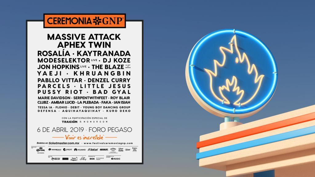 MASSIVE ATTACK CONFIRMADO PARA EL CEREMONIA GNP 2019