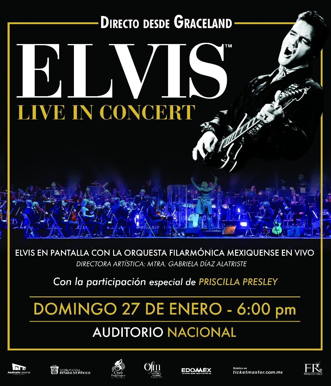 """EL SHOW """"ELVIS LIVE IN CONCERT"""" LLEGARÁ A LA CIUDAD DE MÉXICO"""