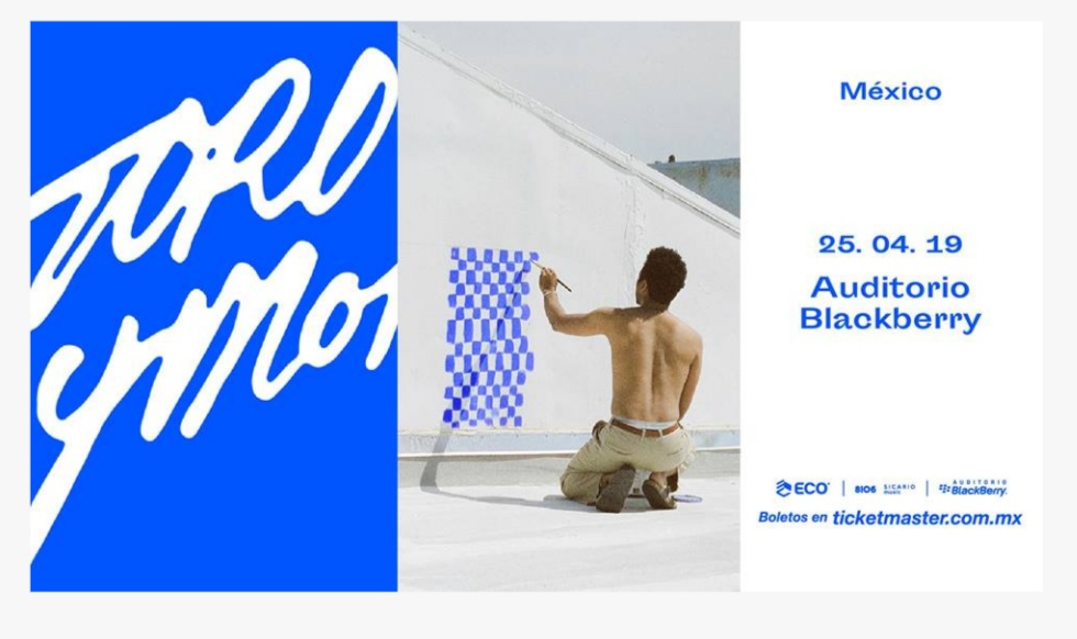 TORO Y MOI PONDRÁ EL BAILE EN EL AUDITORIO BLACKBERRY