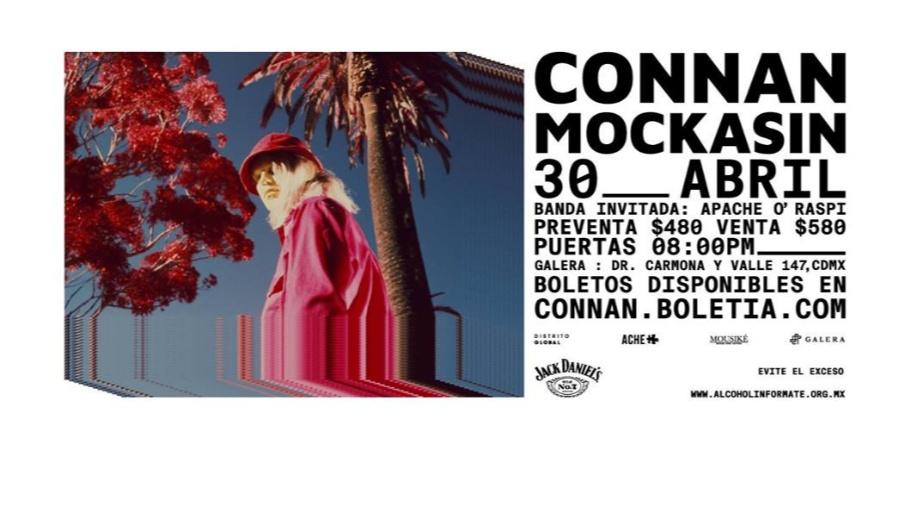 CONNAN MOCKASIN EN MÉXICO