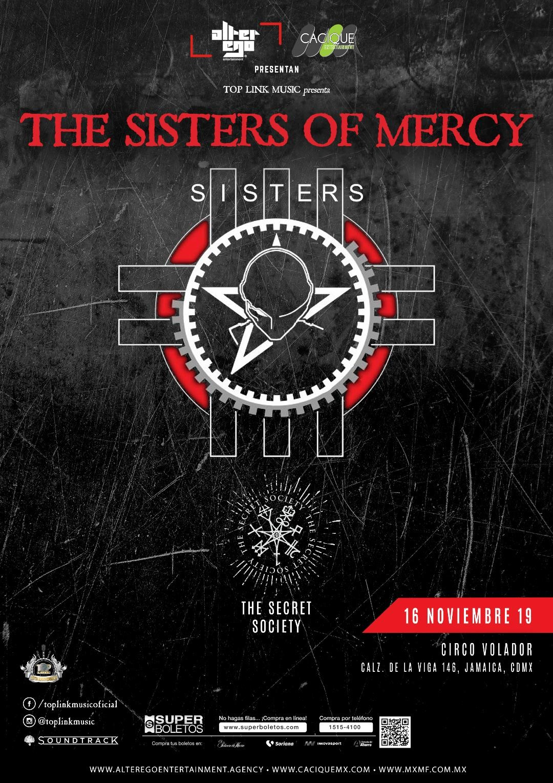 THE SISTERS OF MERCY ESTARÁ DE REGRESA