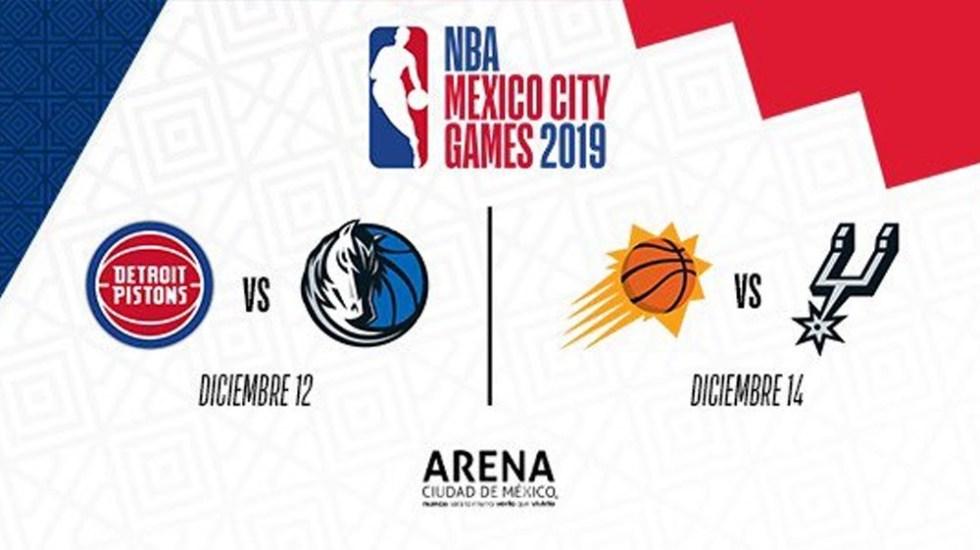REGÍSTRATE PARA ADQUIRIR LOS BOLETOS DE LA NBA MEXICO CITY GAMES 2019